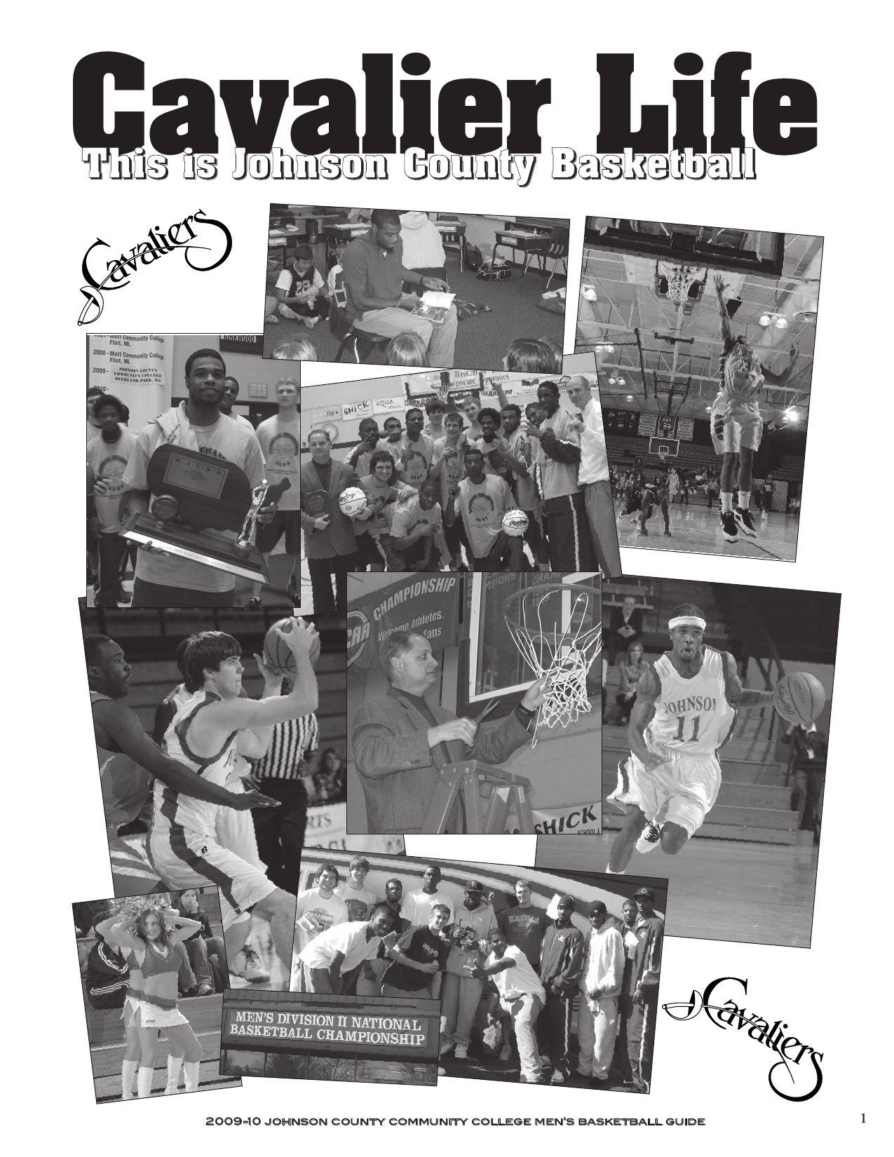 2009-10 JCCC Men's Basketball Media Guide by Chris Gray - issuu