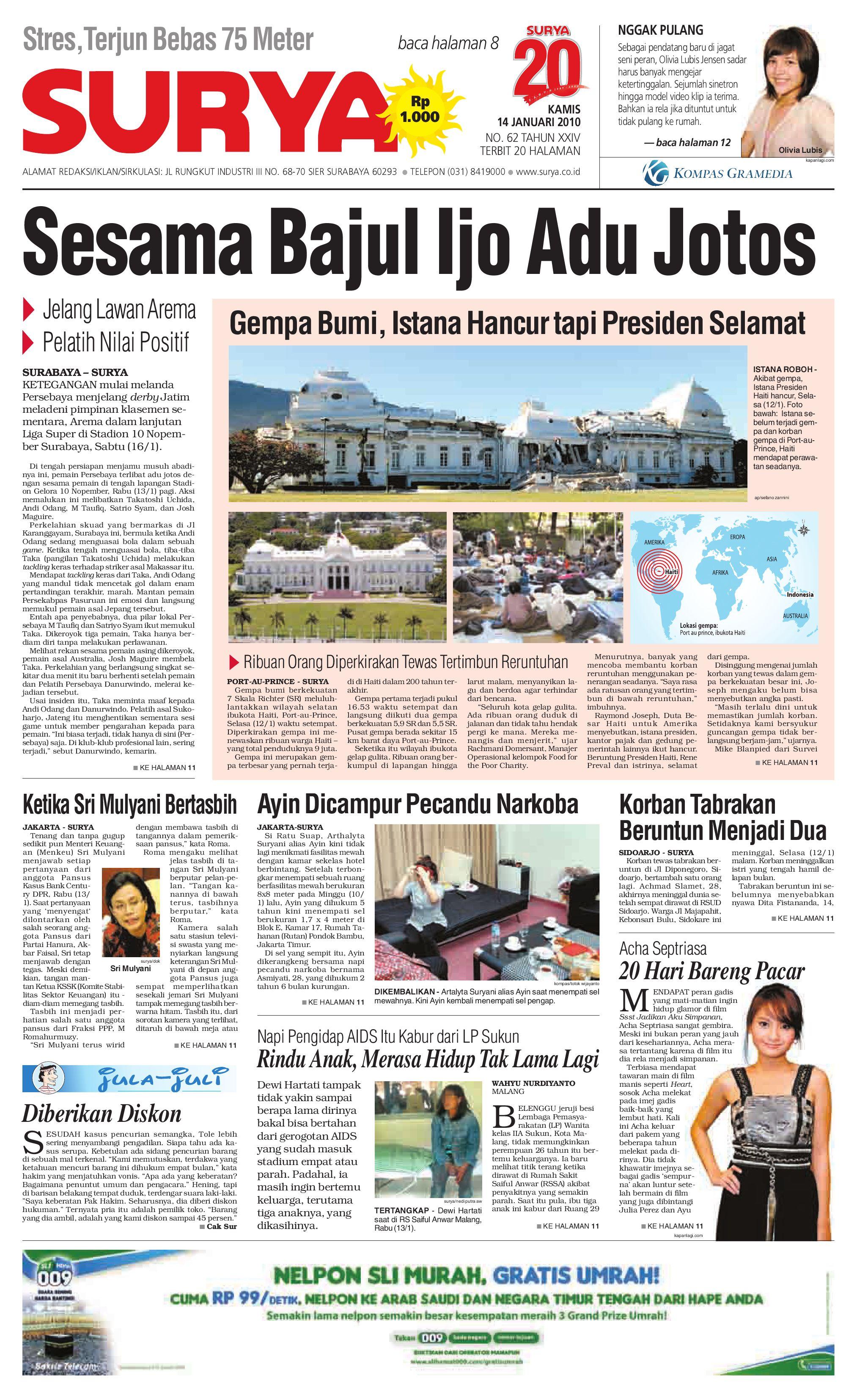surya edisi cetak 02 nov 2009 by harian surya issuu