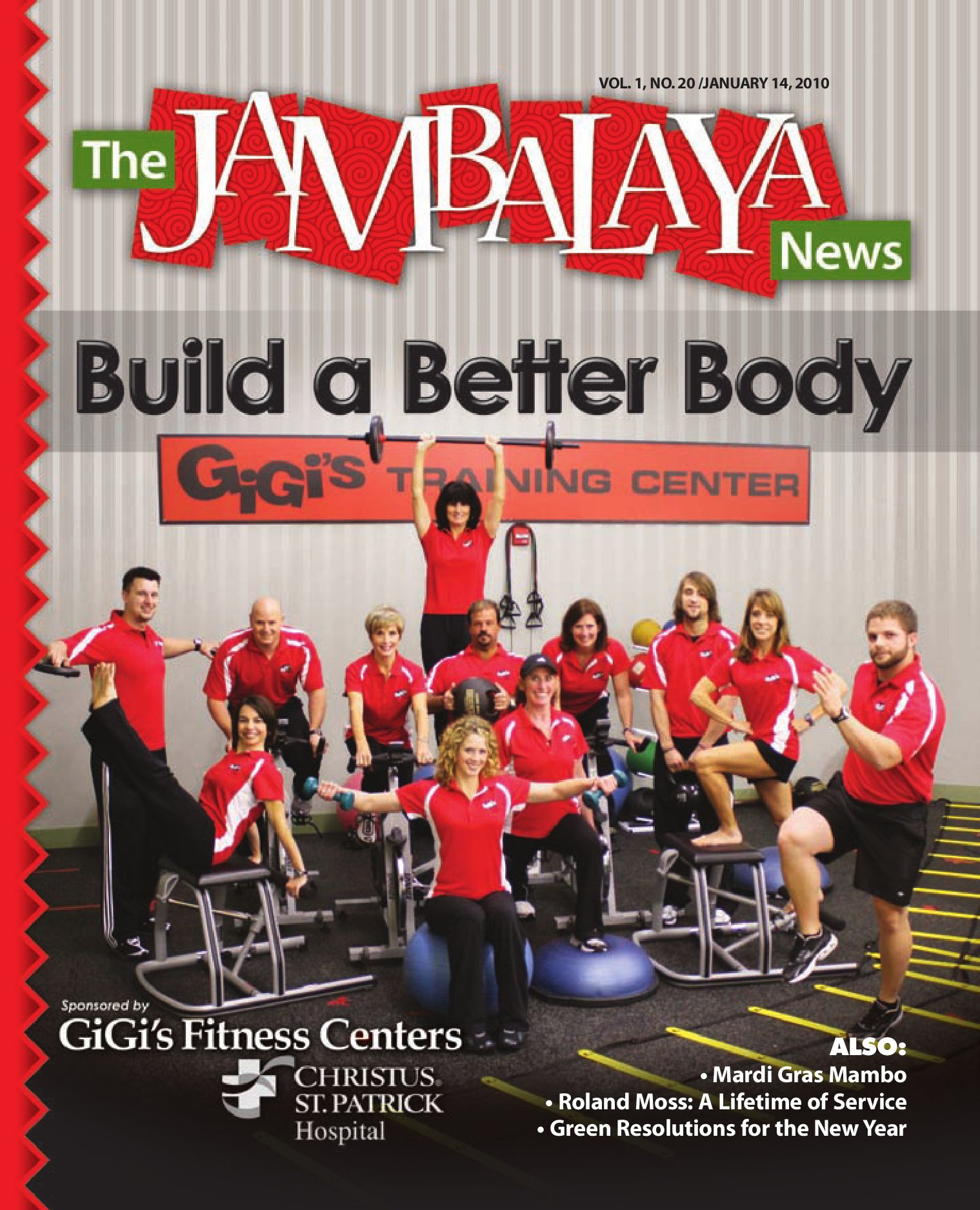 The Jambalaya News - Vol. 1, No. 20 by The Jambalaya News - issuu