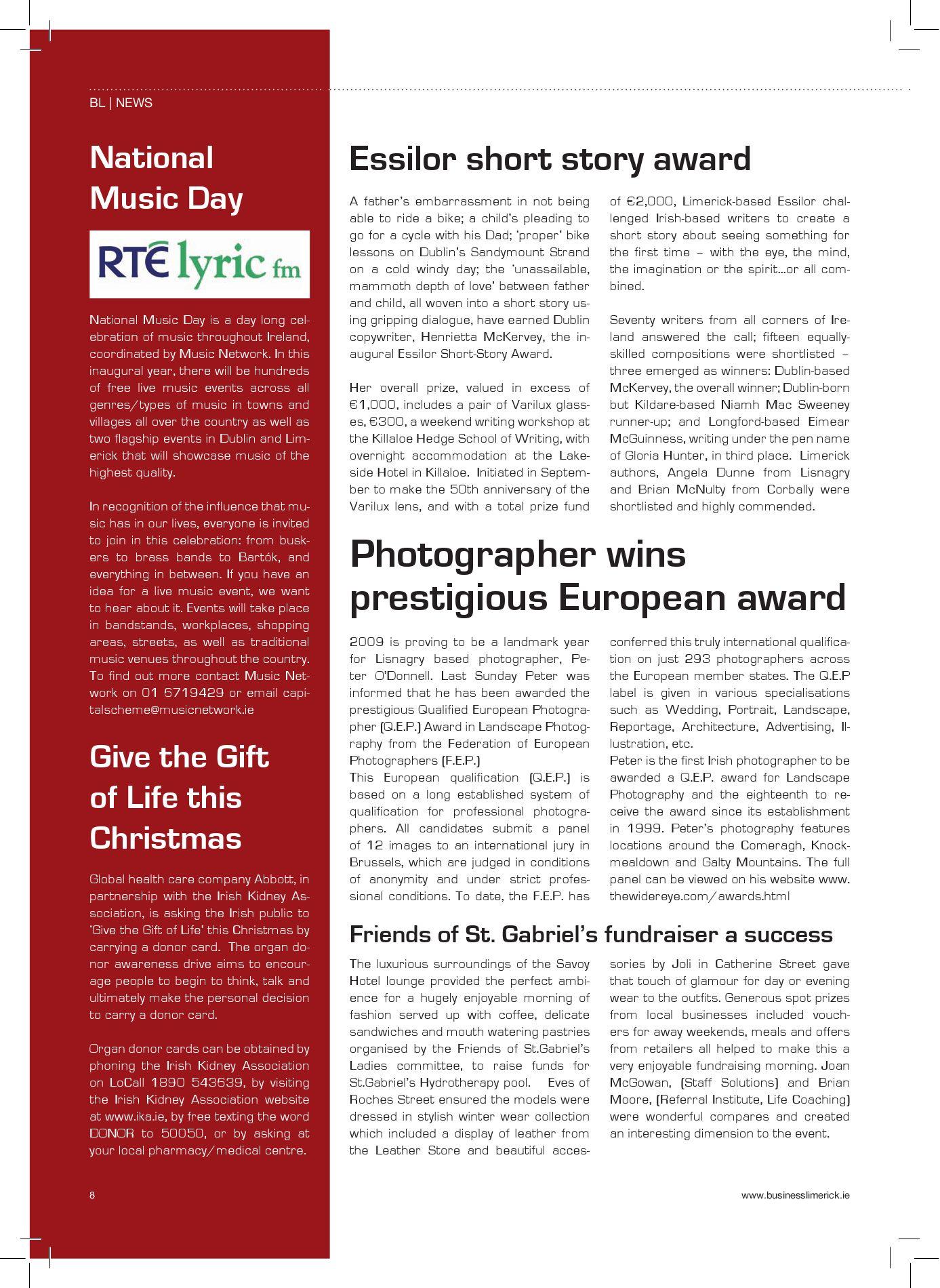 Business Limerick Magazine 01/10 by Business Limerick - issuu