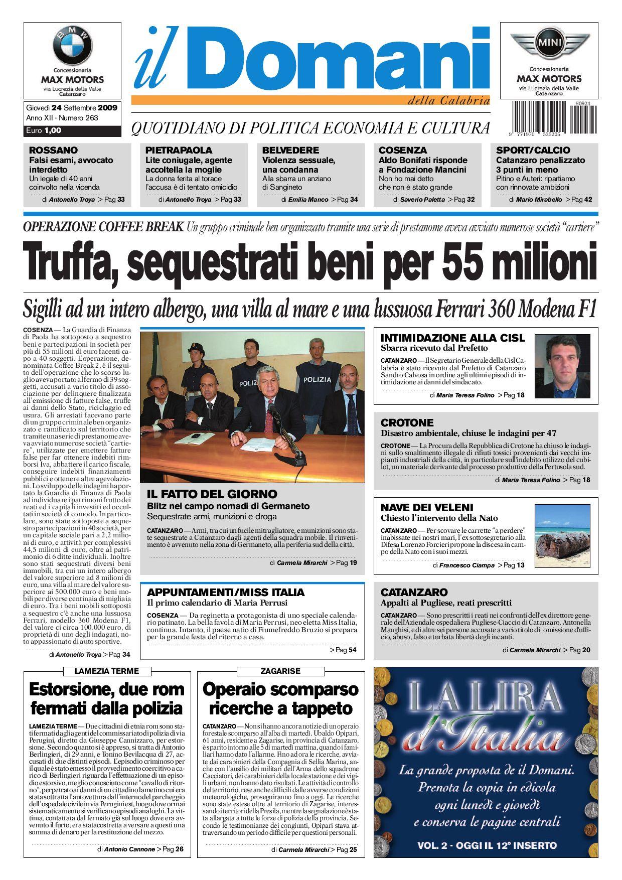 0ce48c7fad il domani by T&P Editori il Domani - issuu