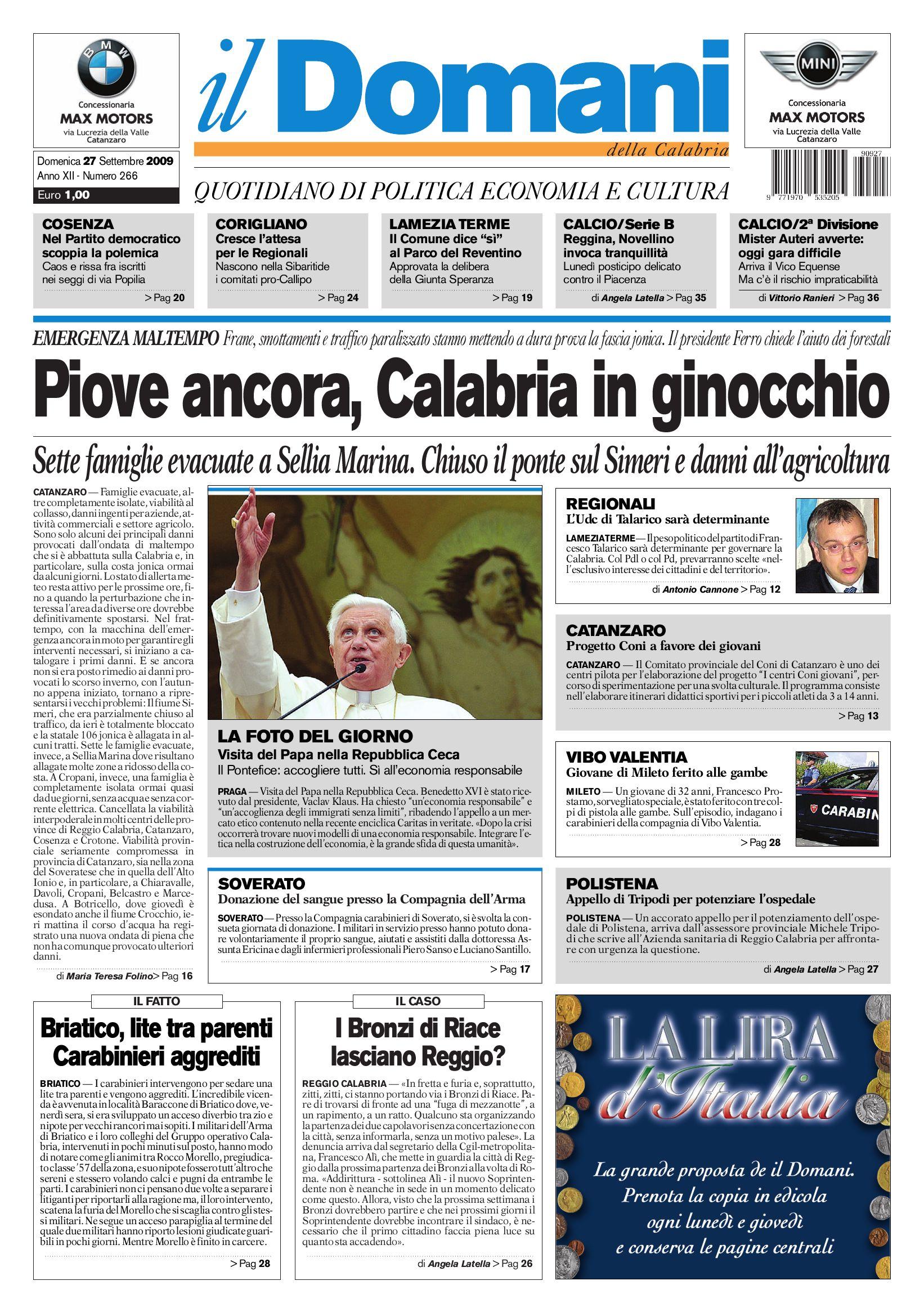 il domani by T P Editori il Domani - issuu 604c79a5b