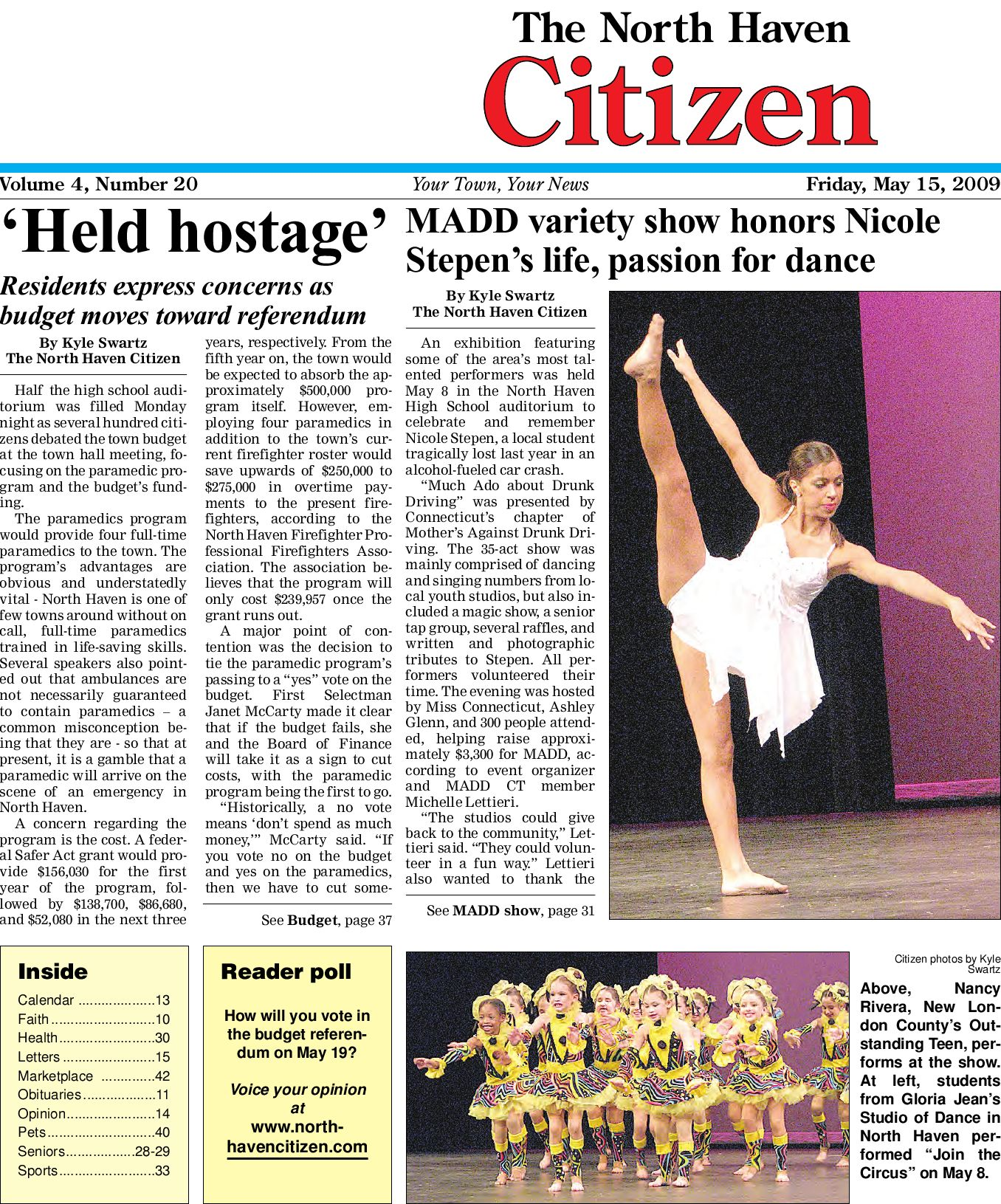 5 15 2009NorthHavenCitizen by North Haven issuu