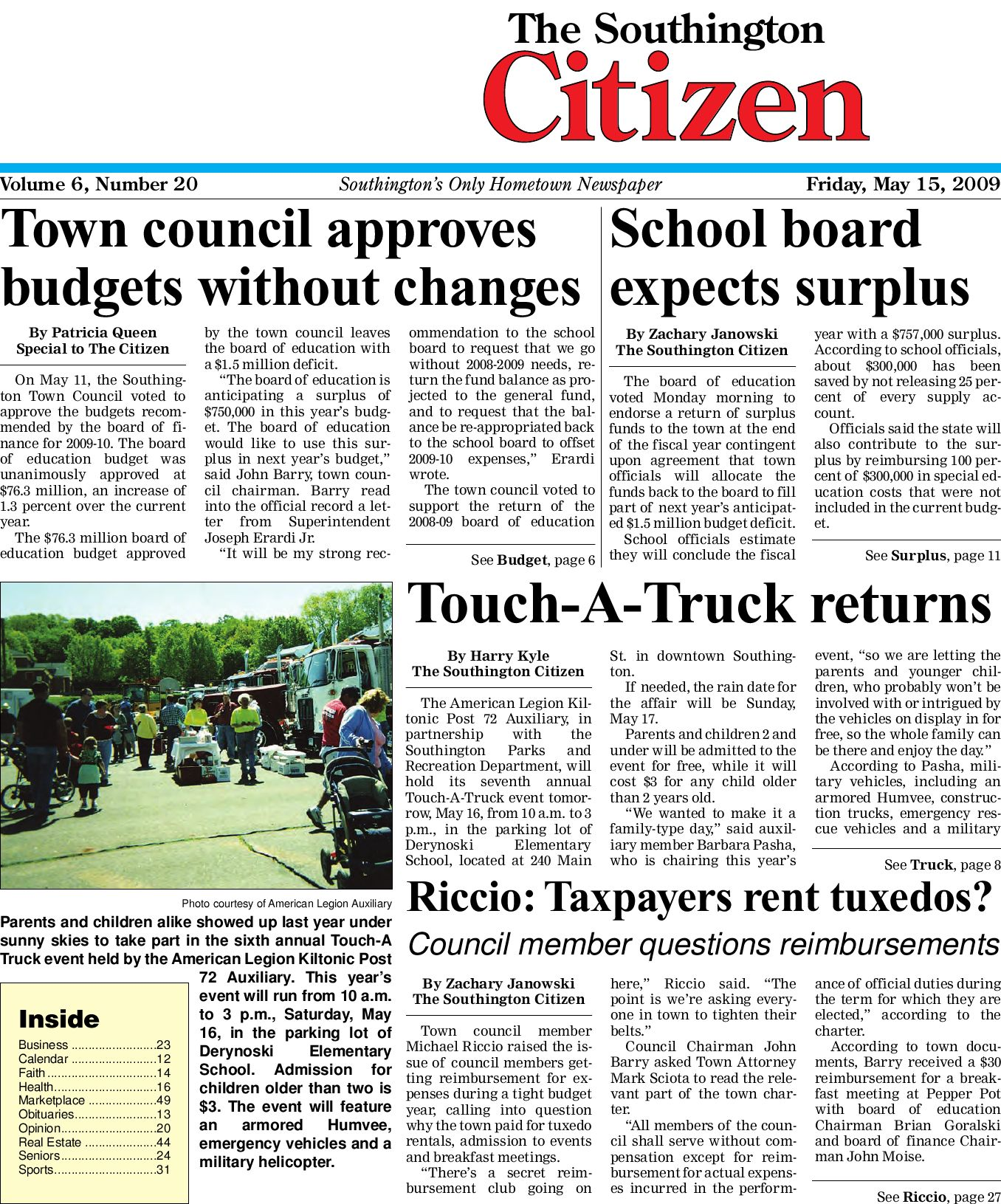5 15 2009SouthingtonCitizen by Dan Champagne issuu