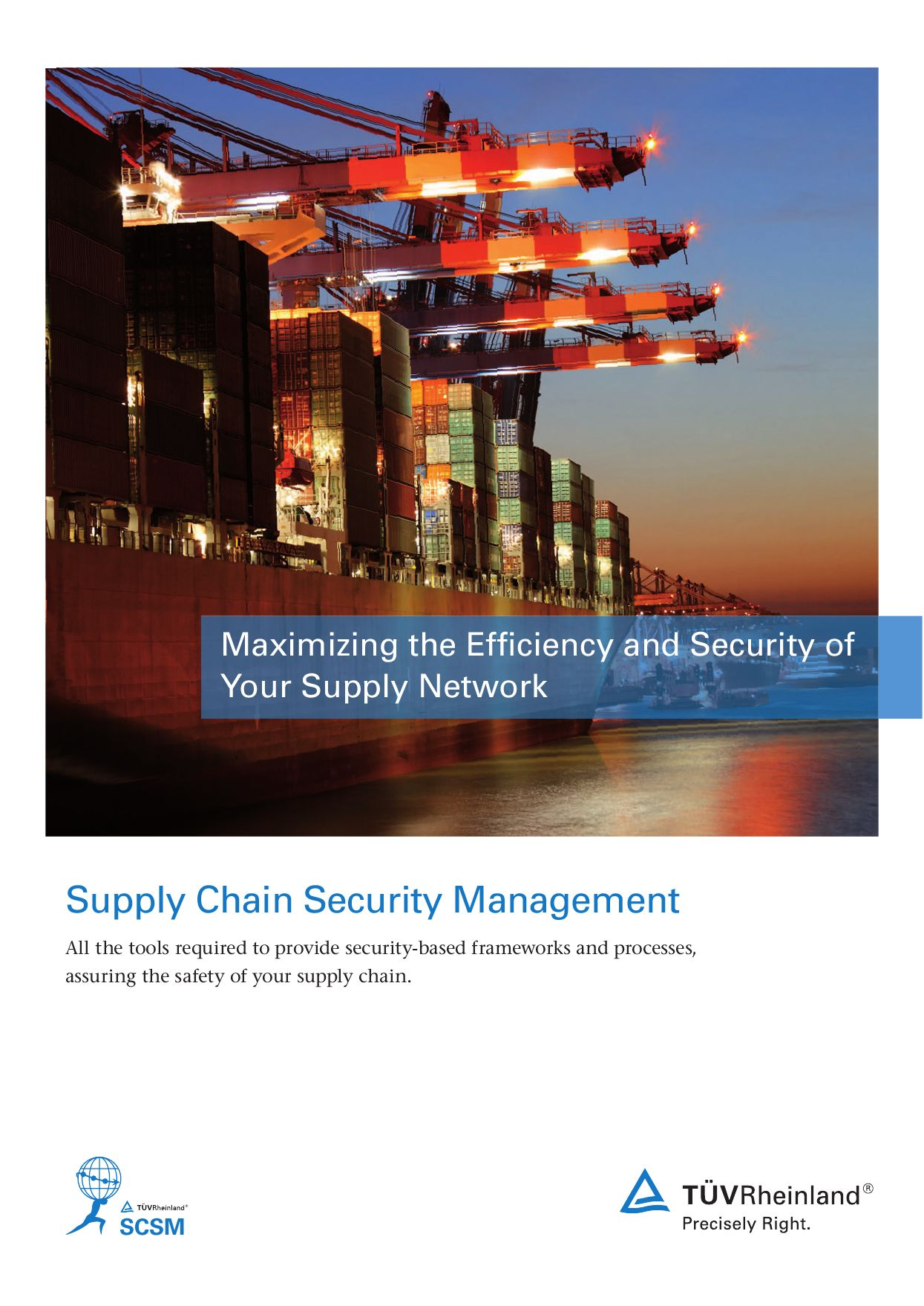Supply Chain Management by TUV Rheinland - issuu