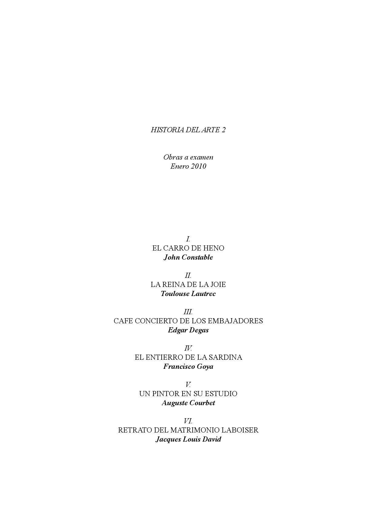 Analisis De Cuadros A Examen By Rober Pallàs Issuu