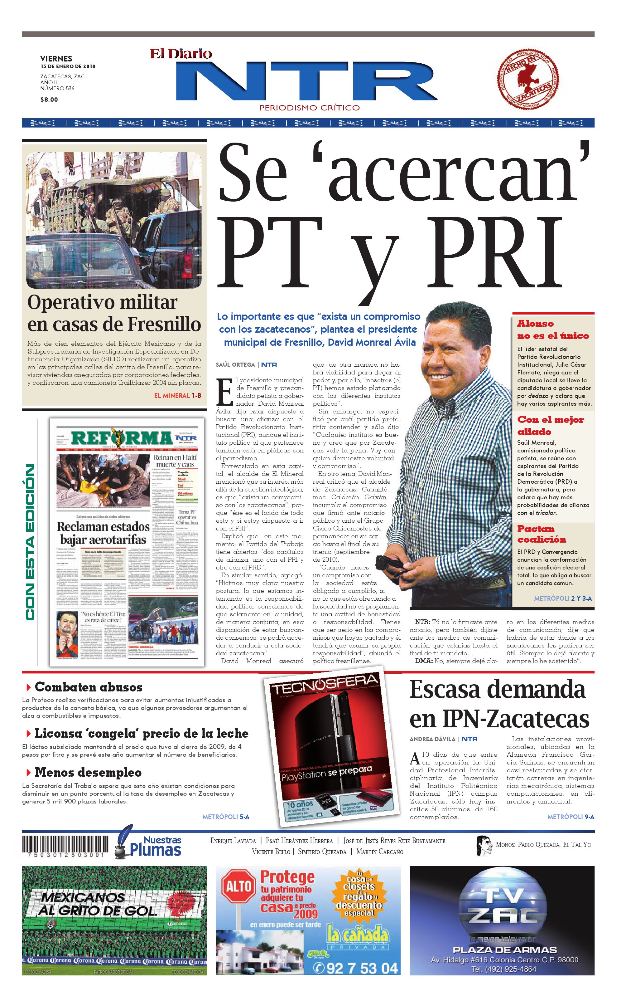 d62f50f838 El Diario NTR by NTR Medios de Comunicación - issuu