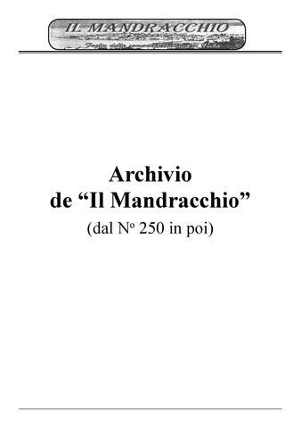 Archivio del mandracchio dal numero 250 al 333 by Icon Adv - issuu 1c8640bdc718