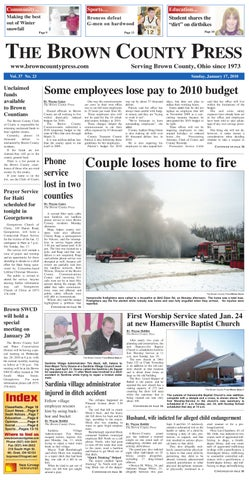 Brown County Press By Clermont Sun Publishing Company Issuu
