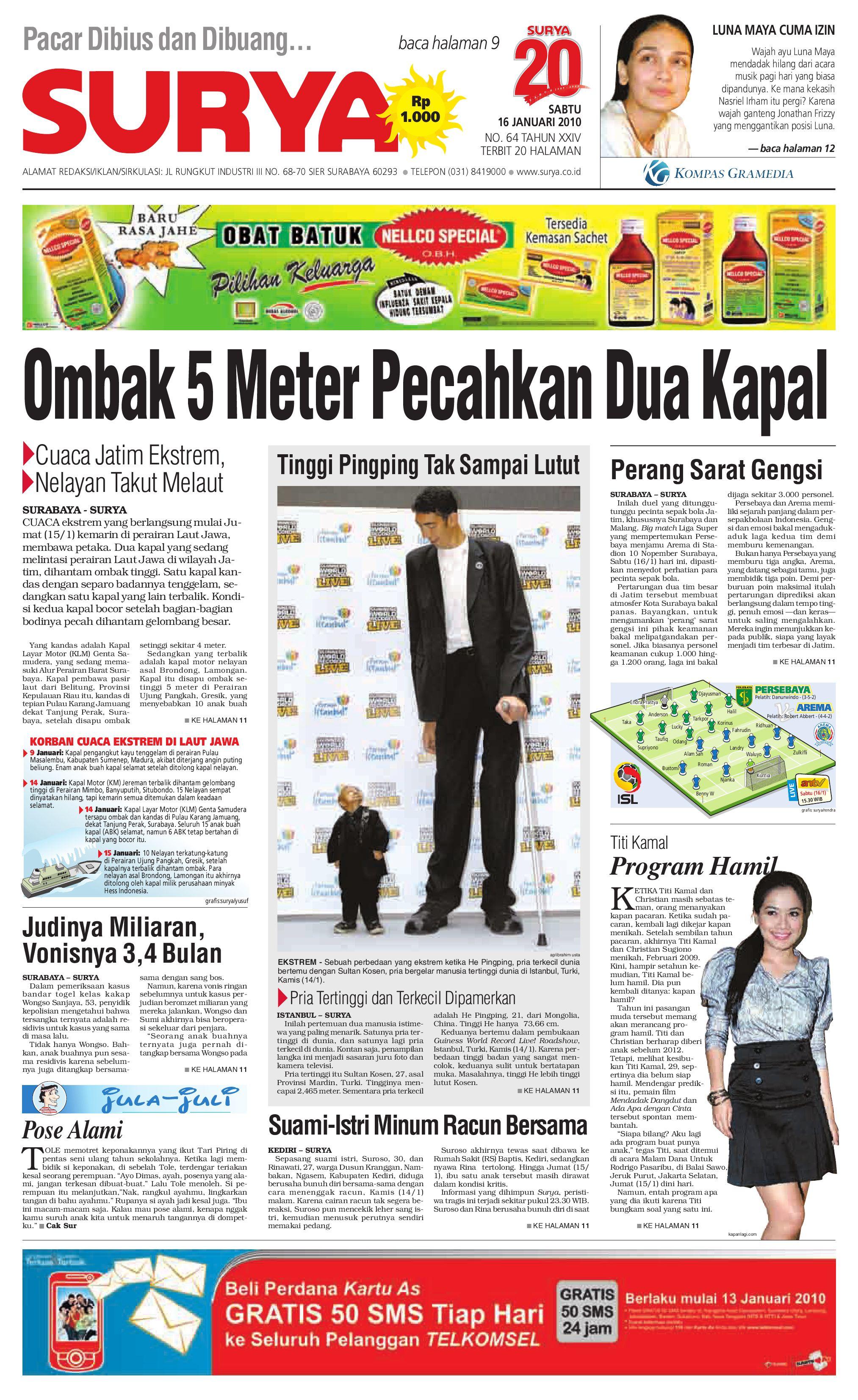surya edisi cetak 23 mei 2009 by harian surya issuu