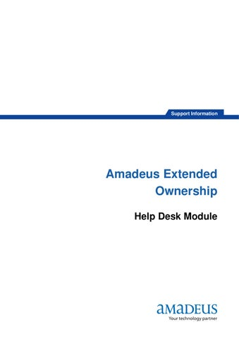 Amadeus Extended Ownership by Chiraphong Khumkhrong - Issuu