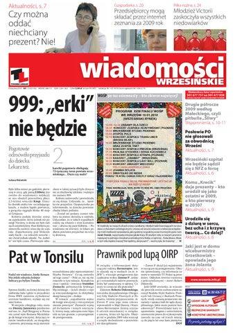 3e4250073392d Wiadomosci Wrzesinskie - 1027 by Wydawnictwo KROPKA - issuu
