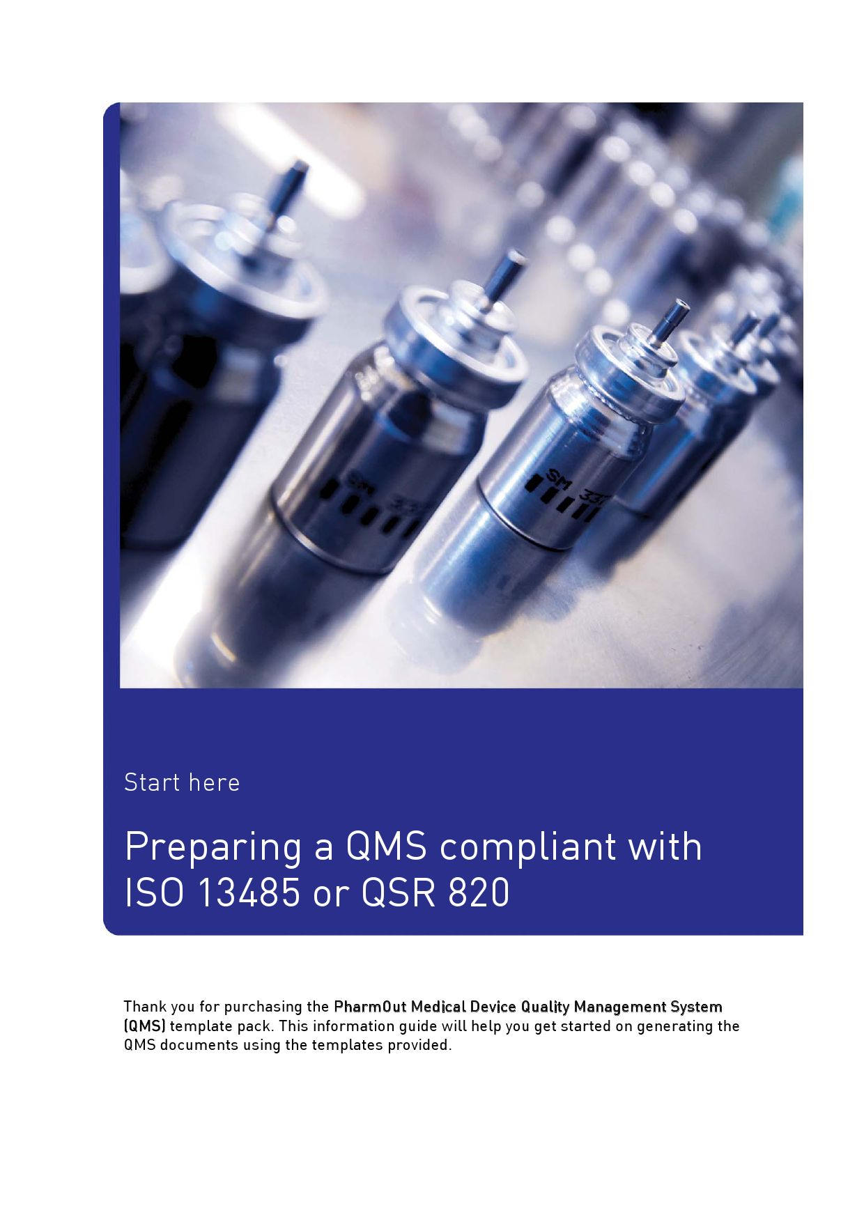PharmOut Medical Device QMS template pack by PharmOut - issuu