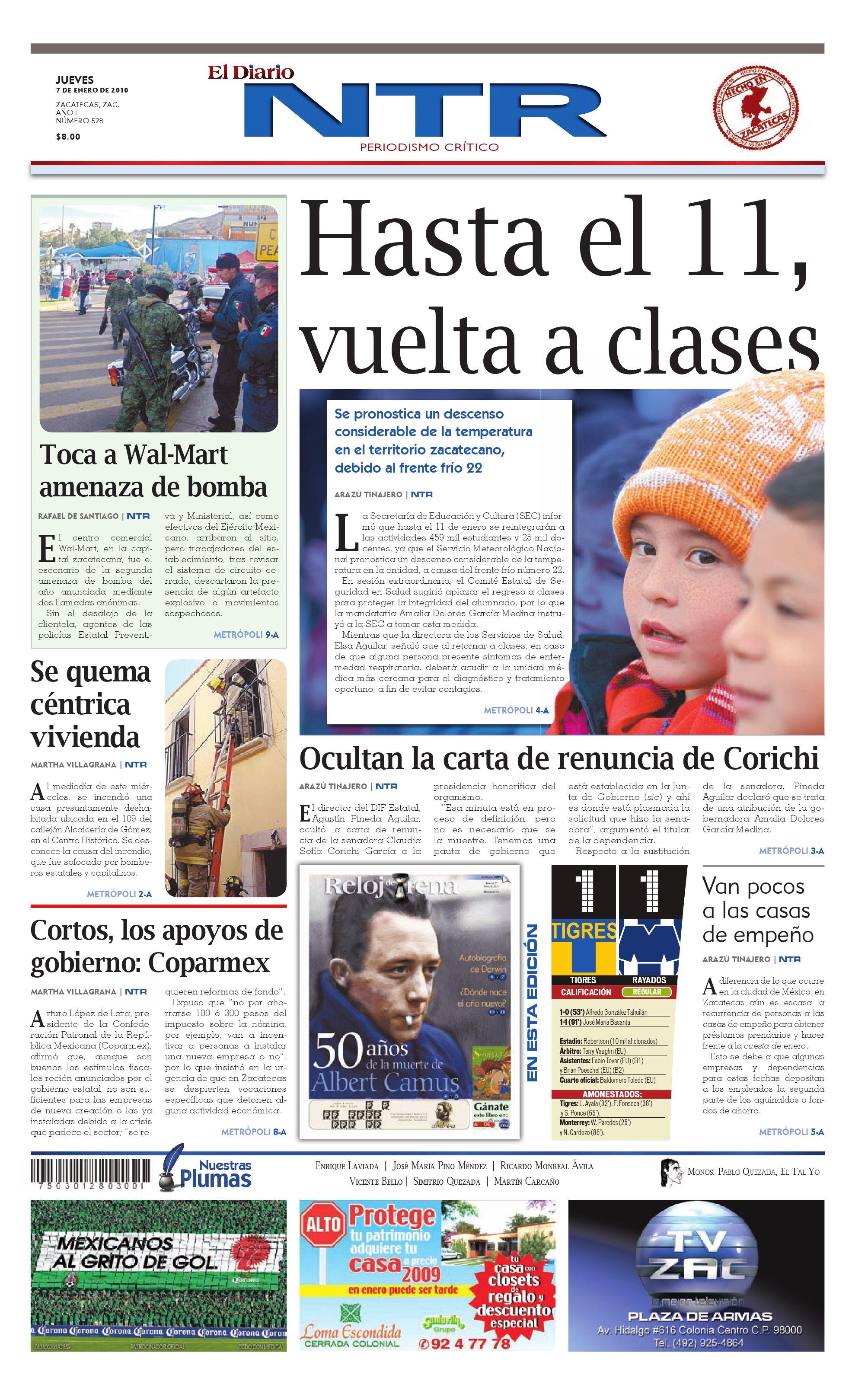 buy popular 31185 f32c9 El Diario NTR by NTR Medios de Comunicación - issuu