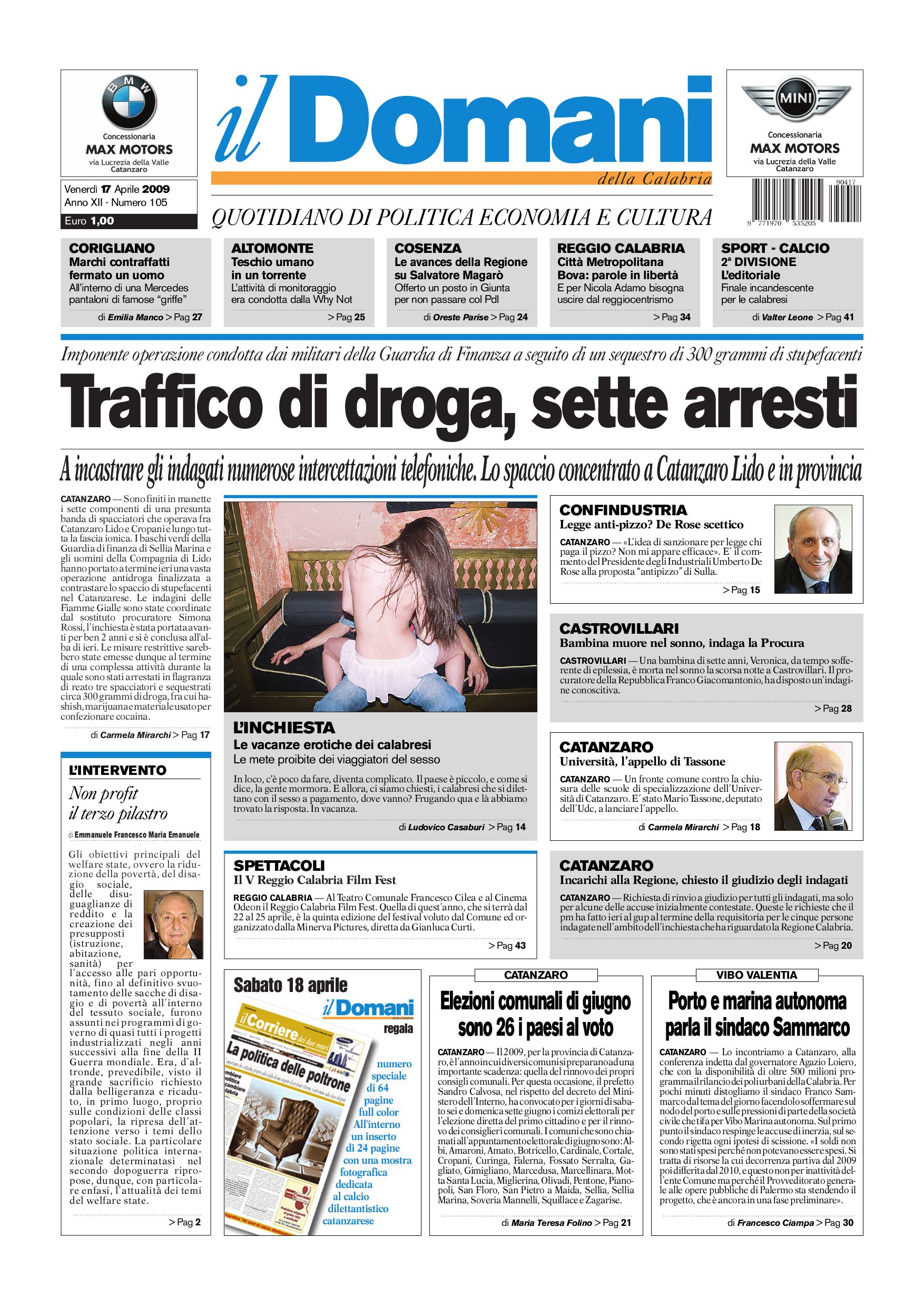 il domani by T P Editori il Domani - issuu b44bbe810bc7