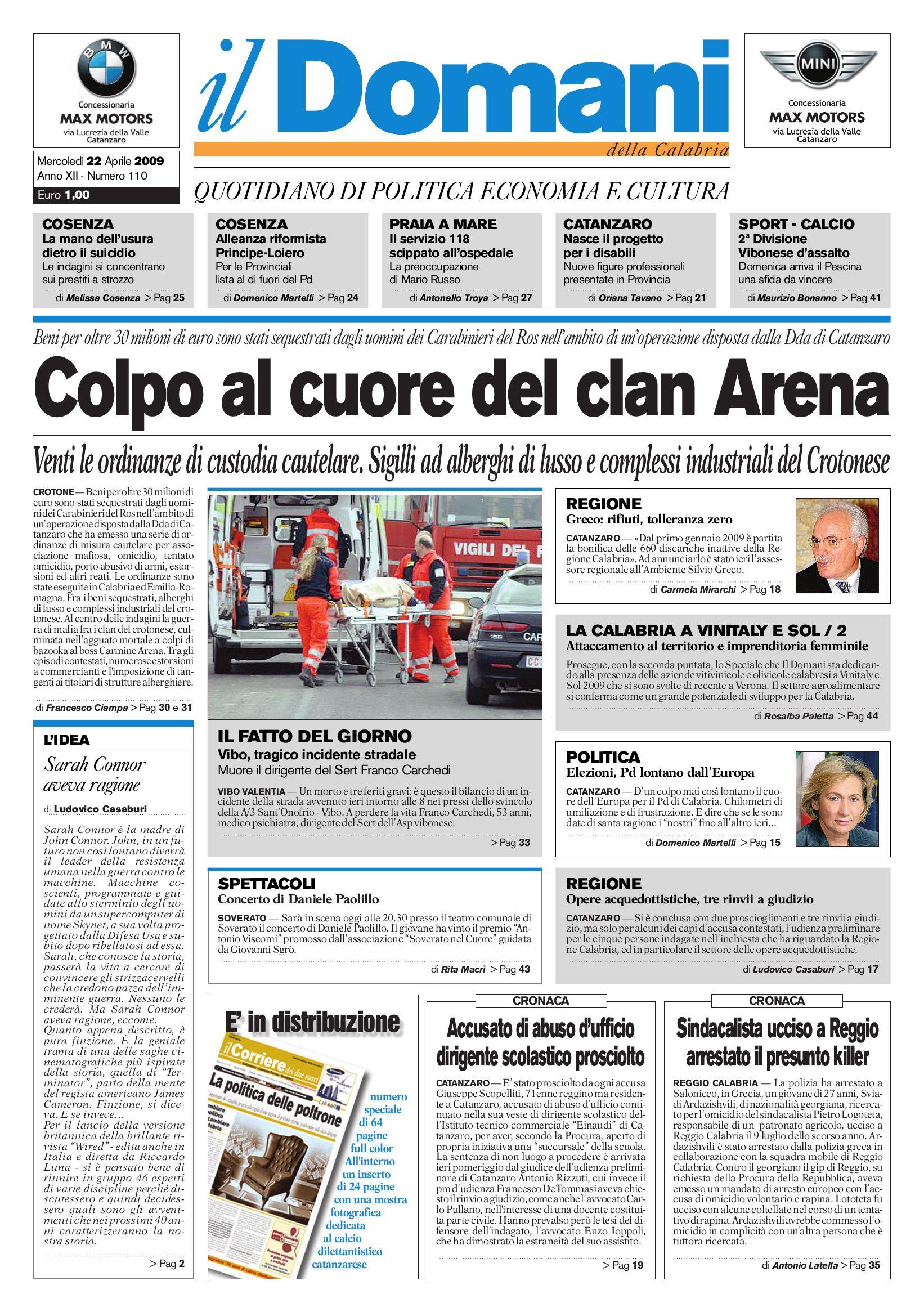 il domani by T P Editori il Domani - issuu 4a04880995c