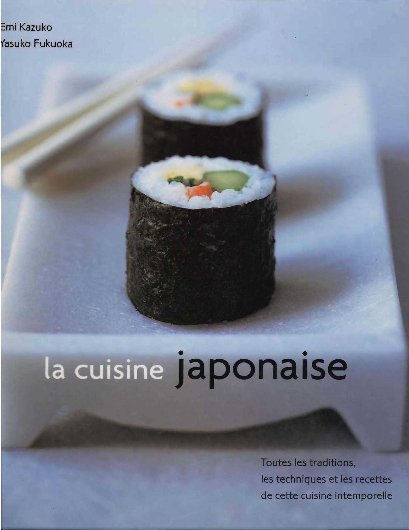 la cuisine japonaise by touslesmagazines issuu. Black Bedroom Furniture Sets. Home Design Ideas
