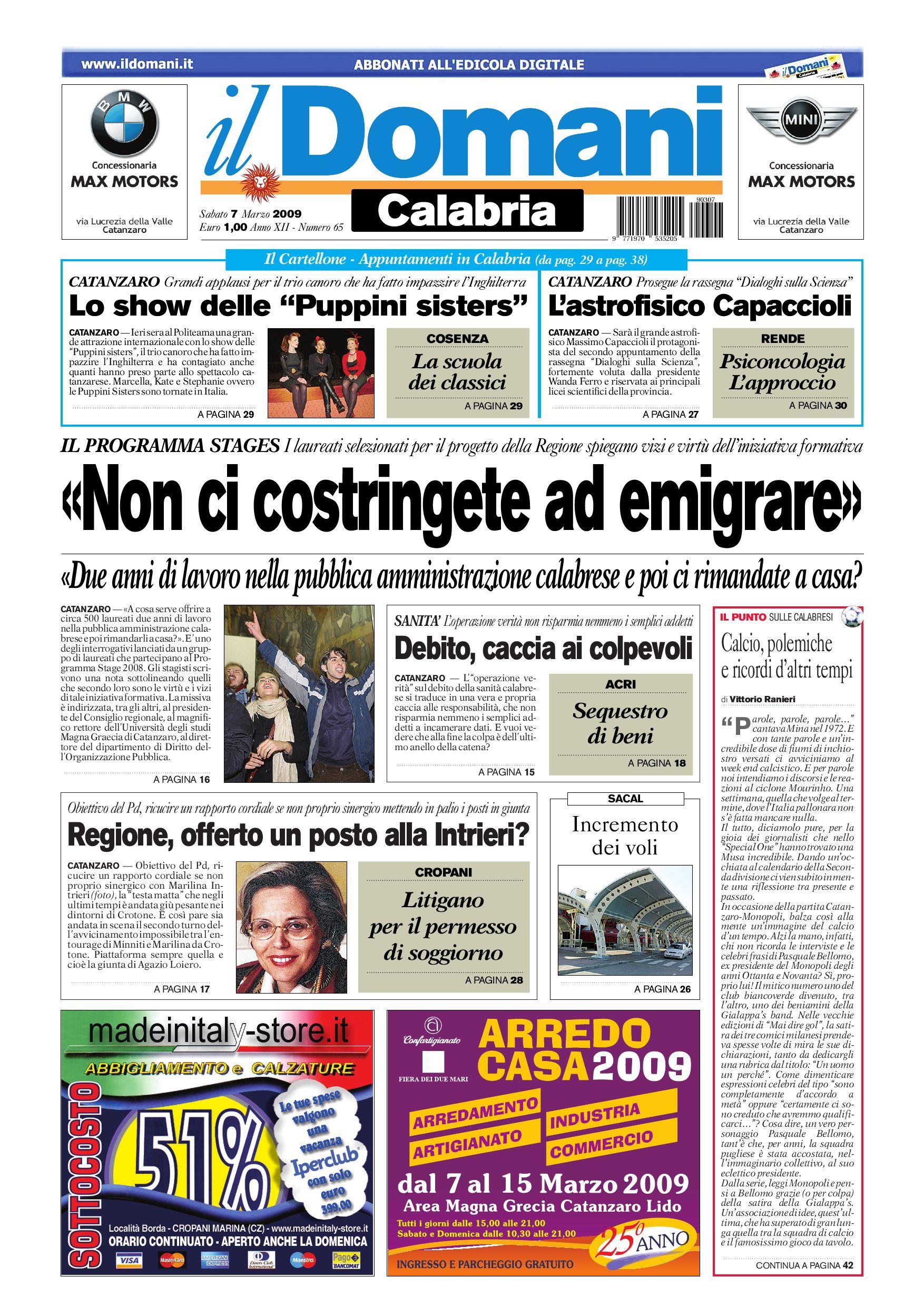 il domani by T P Editori il Domani - issuu aae81f881a0c