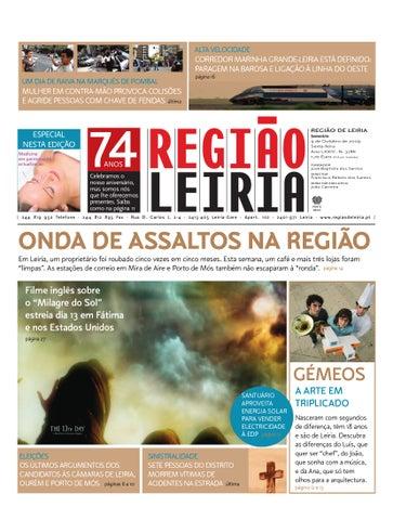Região de Leiria 9 de Outubro 2009 by Região de Leiria Jornal - issuu bdde7294d6111