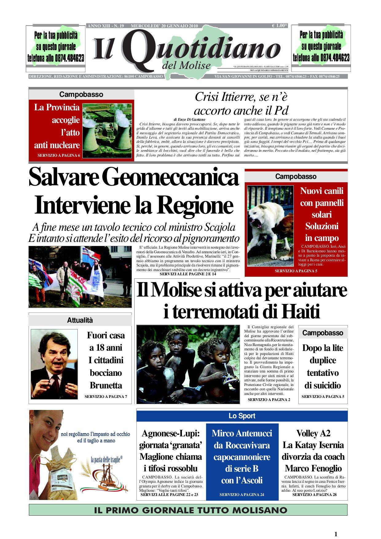 il quotidiano del molise by giovanni testa - issuu 658400ef4a4