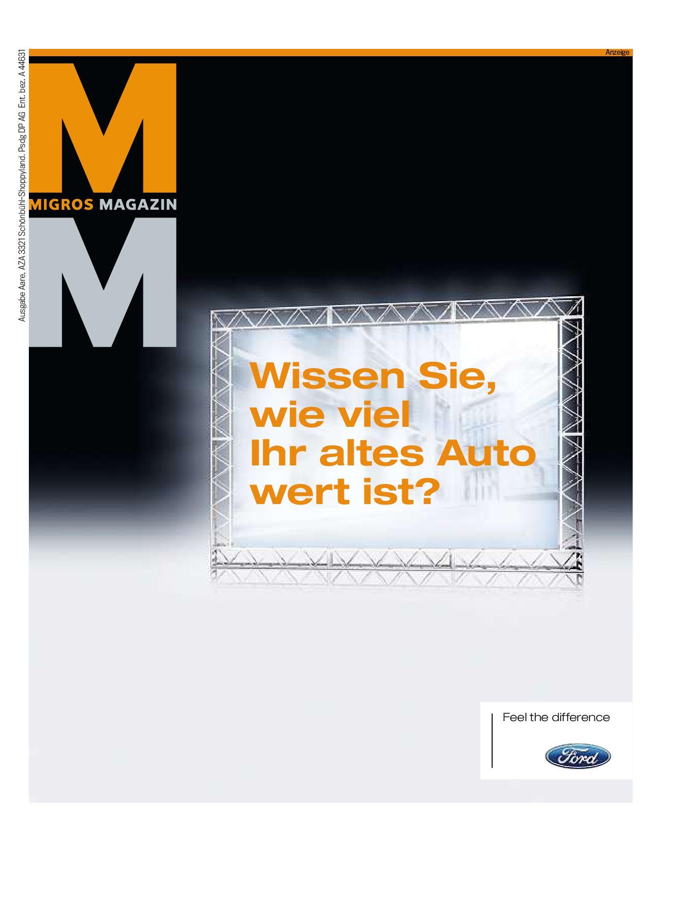 Migros Magazin 42 2009 d VS by Migros Genossenschafts Bund issuu