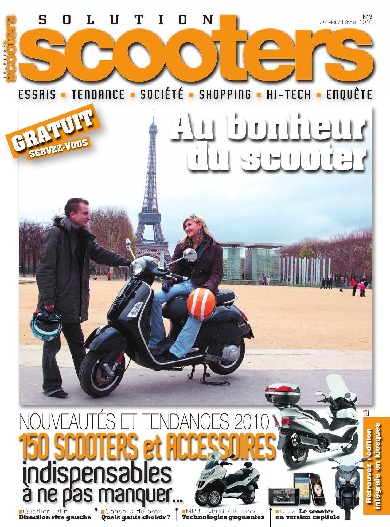 Plaquettes de frein Scooters Piaggio-Vespa MP3 500  Avant Droit de 2009 à 2010