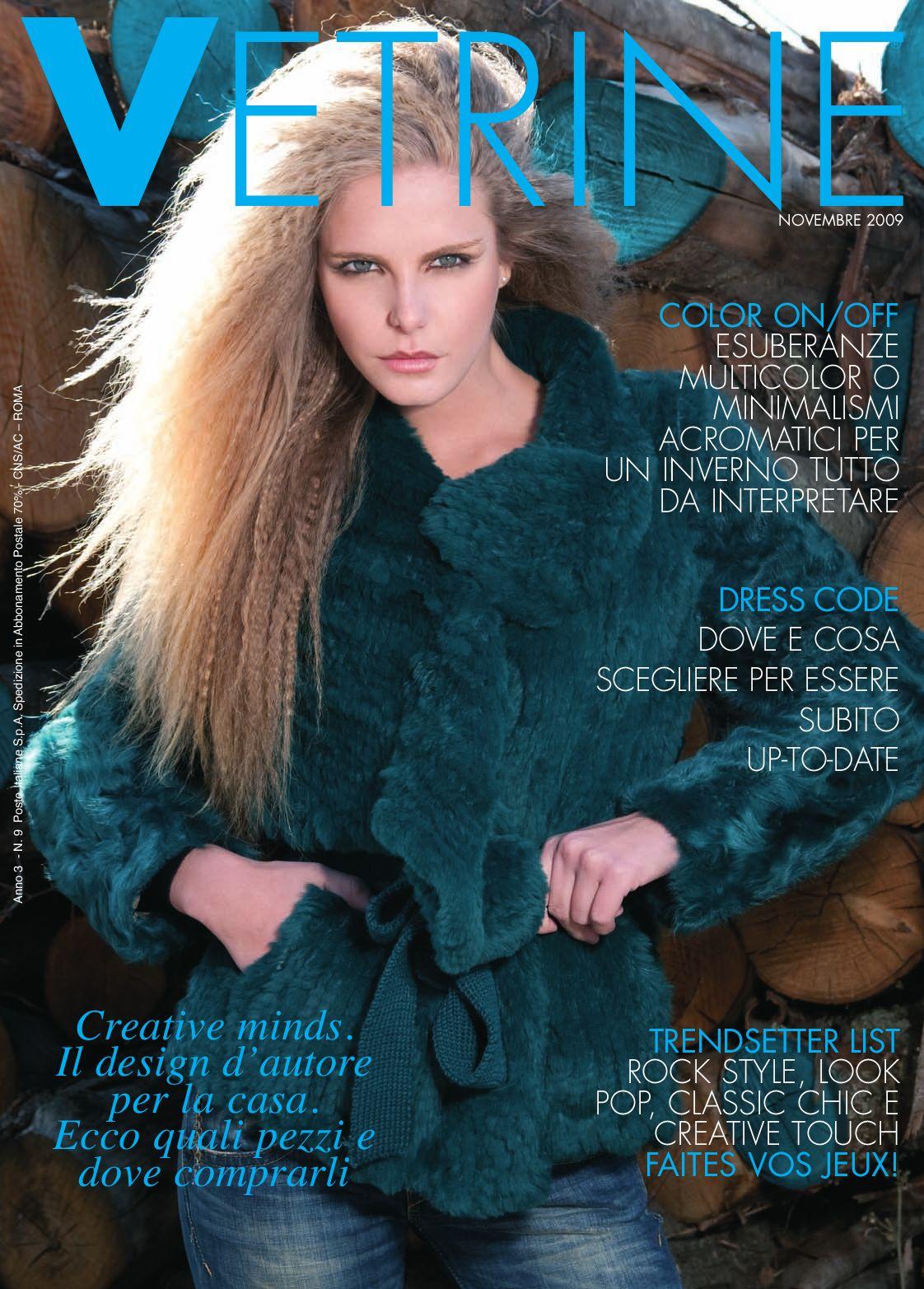 184a7eb1a3839 Vetrine 36 Novembre 2009 by VETRINE - issuu