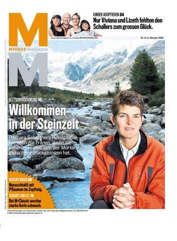 Migros Magazin 41 2009 d LU by Migros-Genossenschafts-Bund - issuu