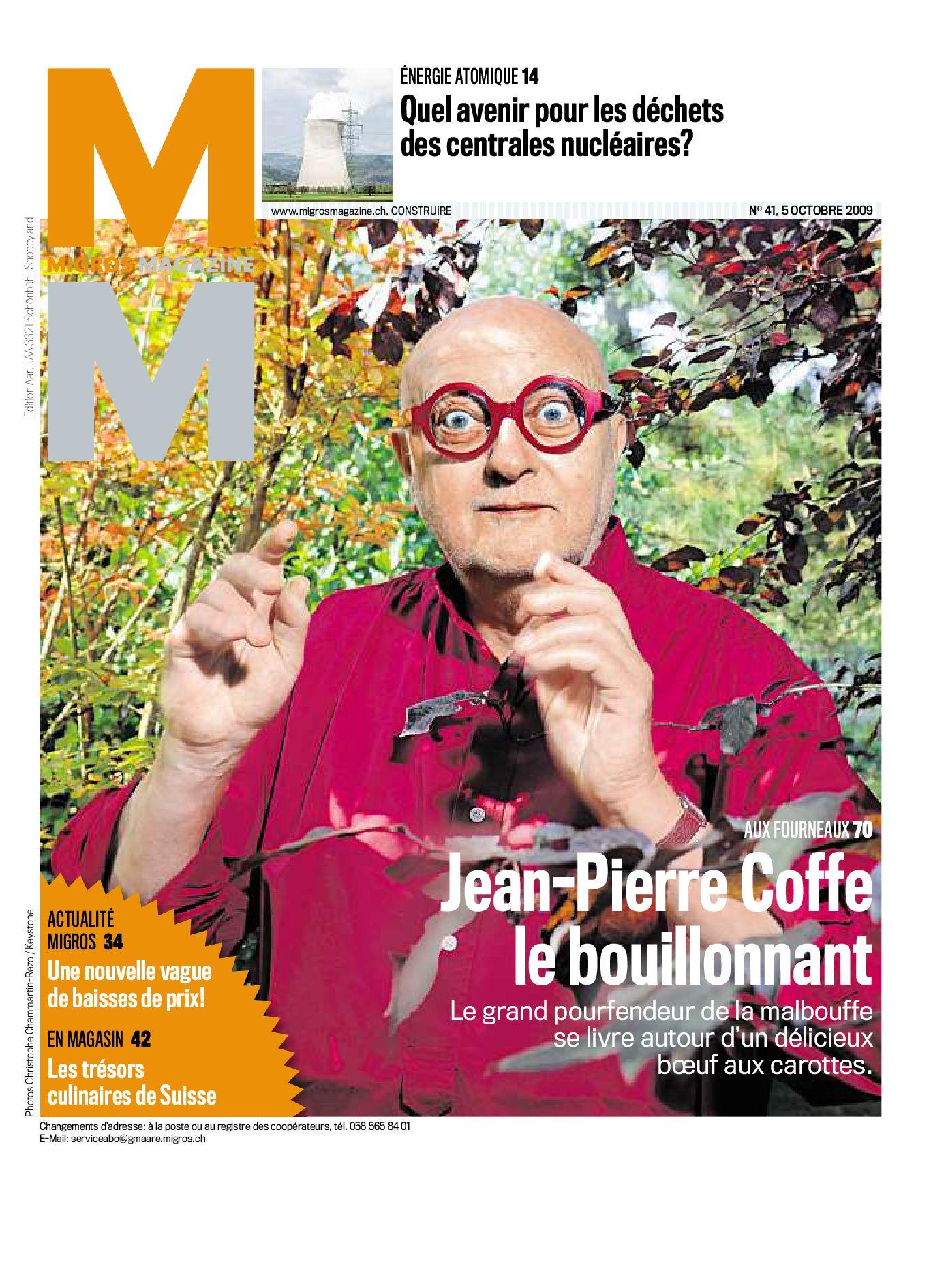 ef332c625308 Migros Magazin 41 2009 f GE by Migros-Genossenschafts-Bund - issuu
