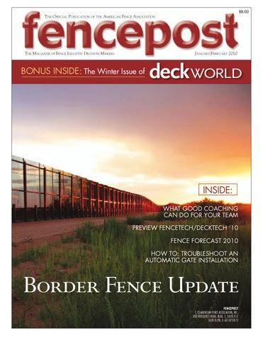 Fencepost Jan Feb2010 By Fencepost Issuu