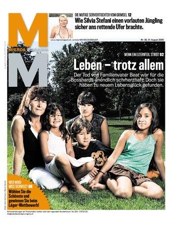 Migros Magazin 36 2009 d LU by Migros-Genossenschafts-Bund - issuu