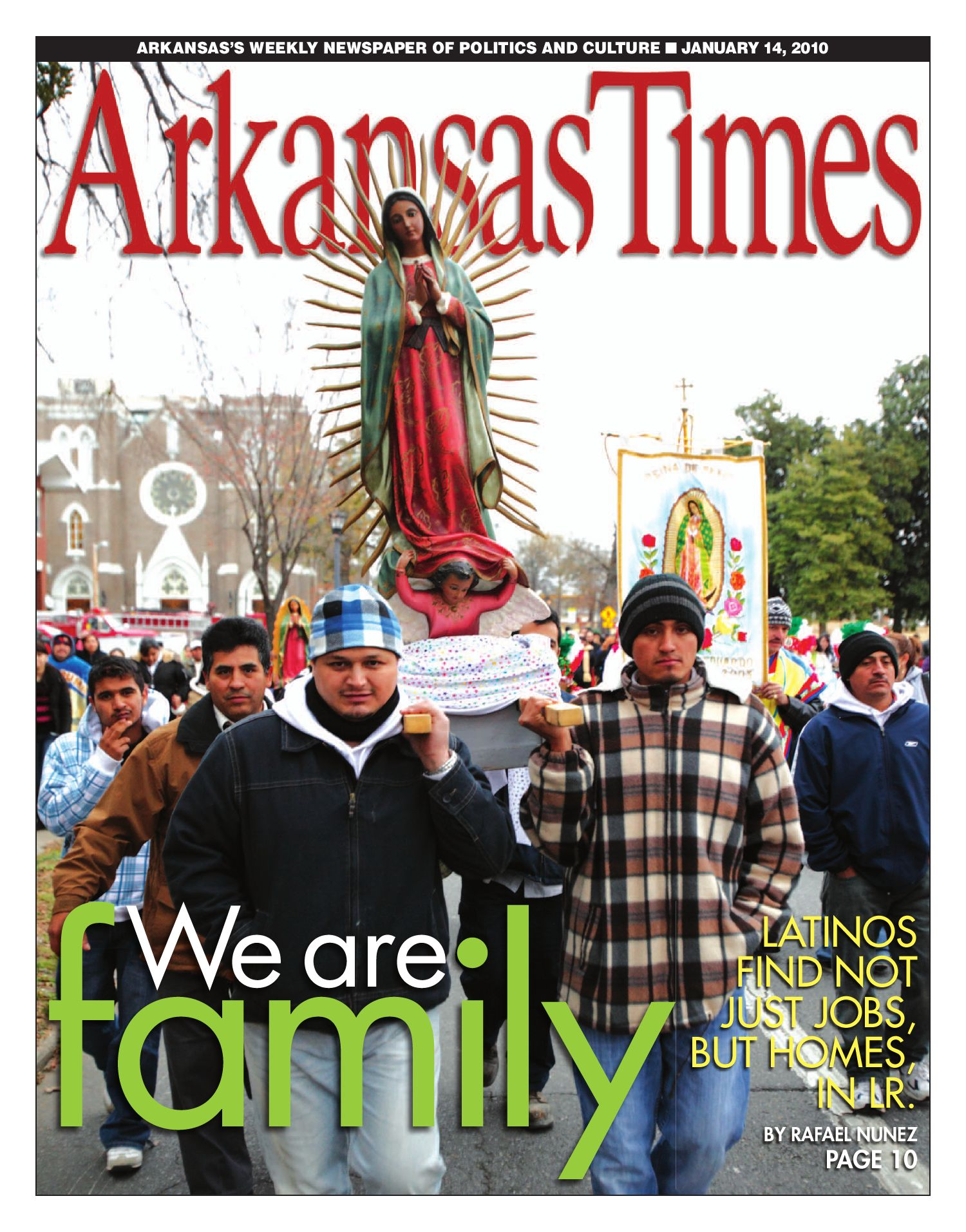 Arkansas Times Week Of January 14 2010 By