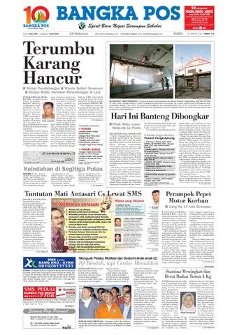 Harian Pagi Bangka Pos Edisi 20 Januari 2010 by bangka pos - issuu 379d47f3bf
