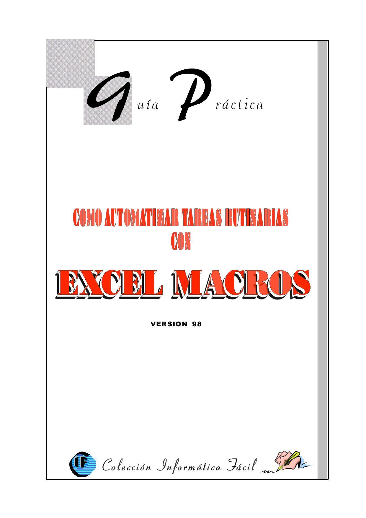 Excel macros by Carlos Montoya - issuu