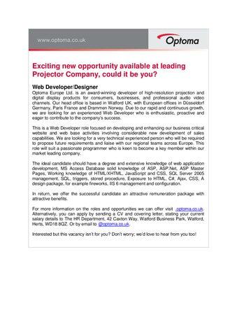 web application developer job description