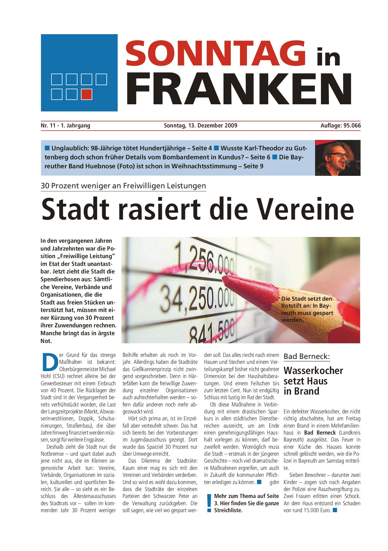 Sonntag in Franken vom 13.12.2009 by Nordbayerischer Kurier GmbH ...