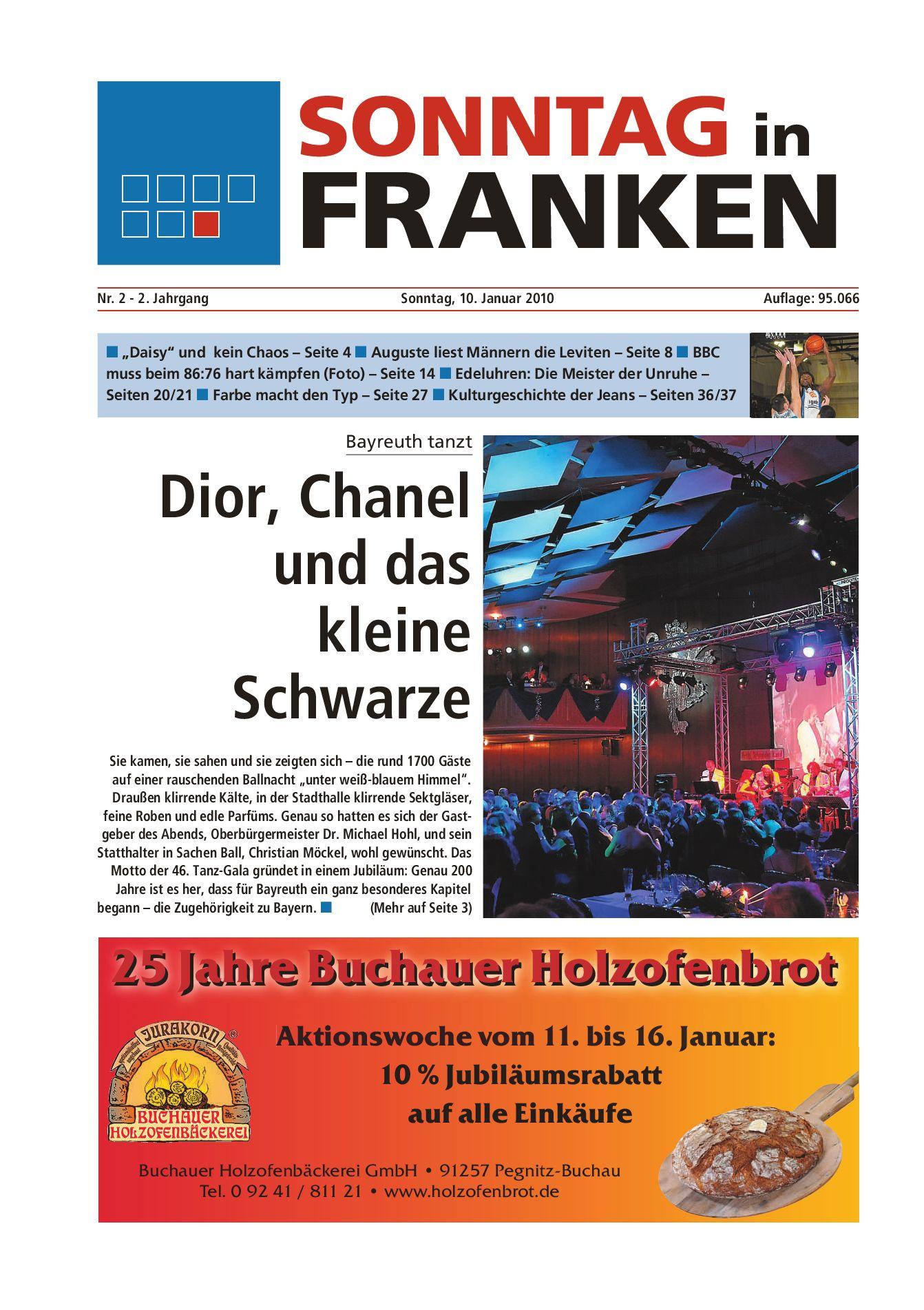 Sonntag in Franken vom 11.01.2010 by Nordbayerischer Kurier GmbH   Co.  Zeitungsverlag KG - issuu ec49978053