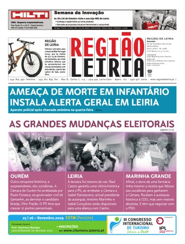 47dcfade096 Região de Leiria 16 de Outubro 2009 by Região de Leiria Jornal - issuu