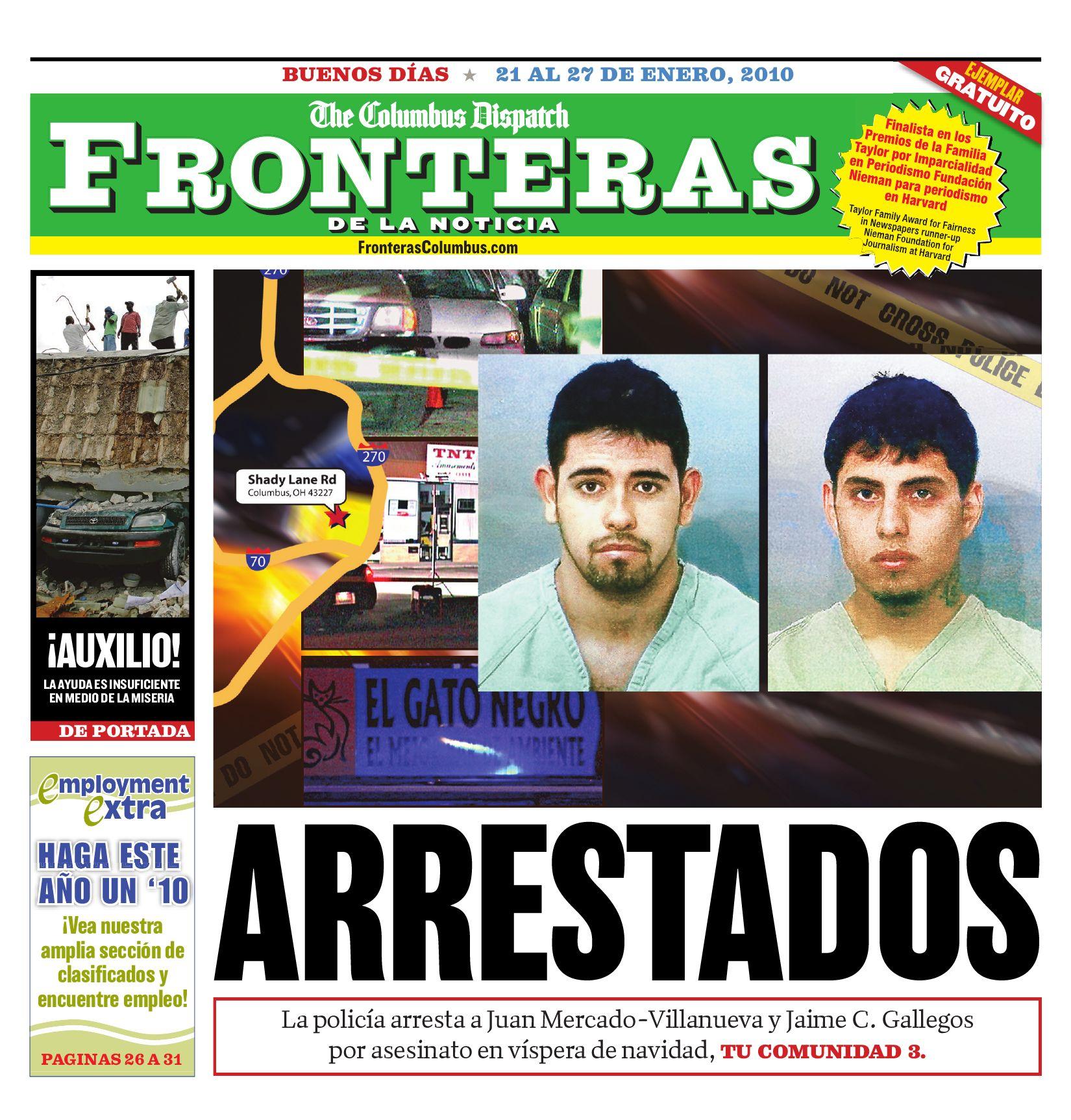 Fronteras Columbus January 21 27 2010 By The Columbus Dispatch  # Vacantes Muebles Dico Guadalajara