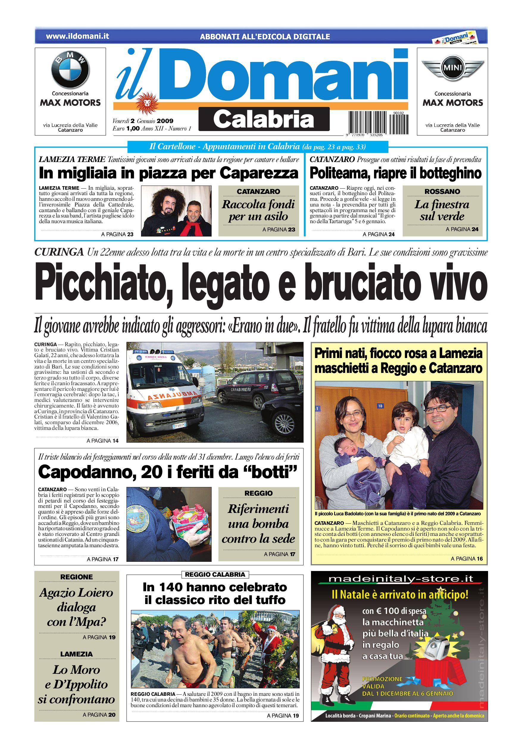Il Domani By T P Editori Il Domani Issuu