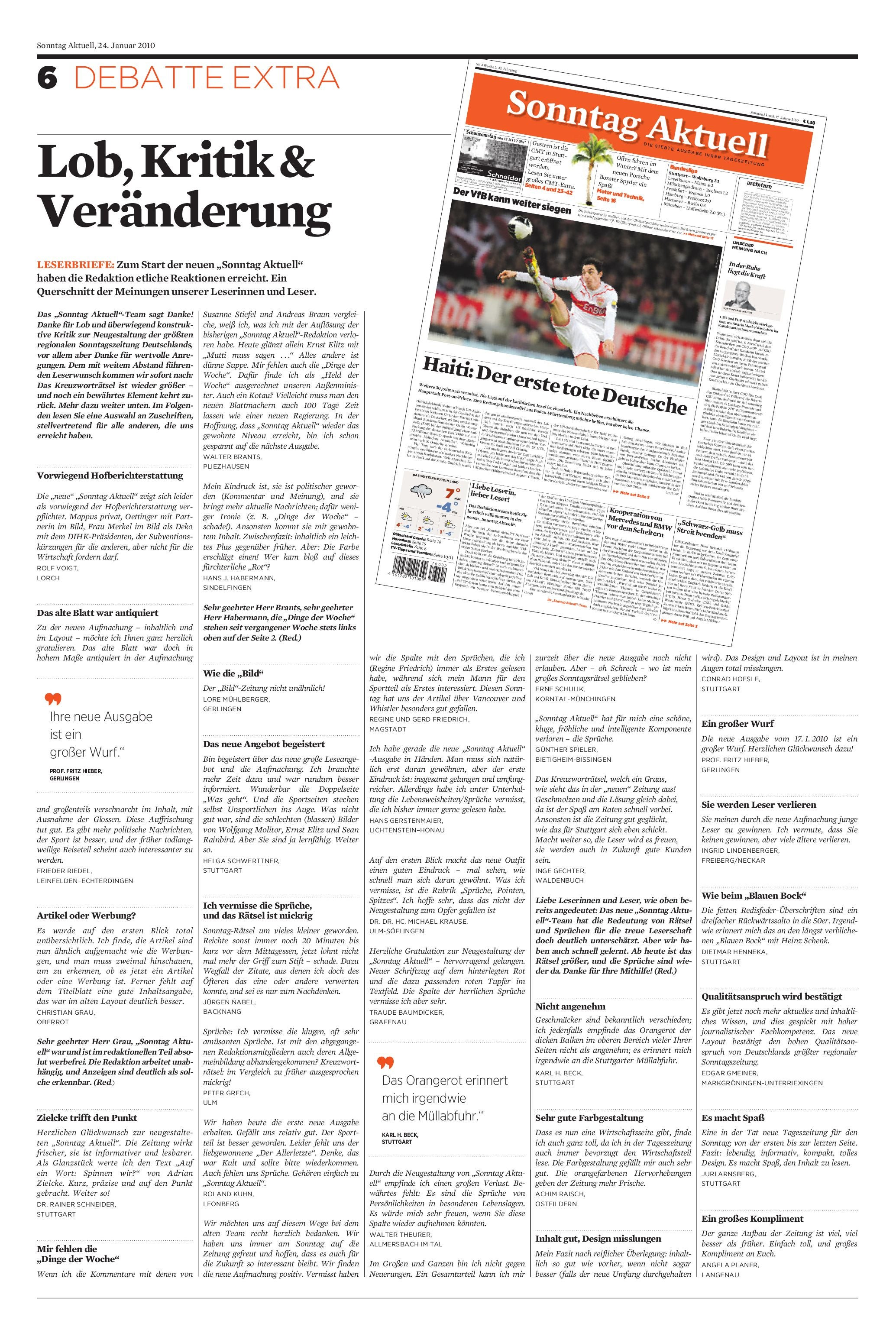 Sonntag Aktuell by Christoph Grote issuu