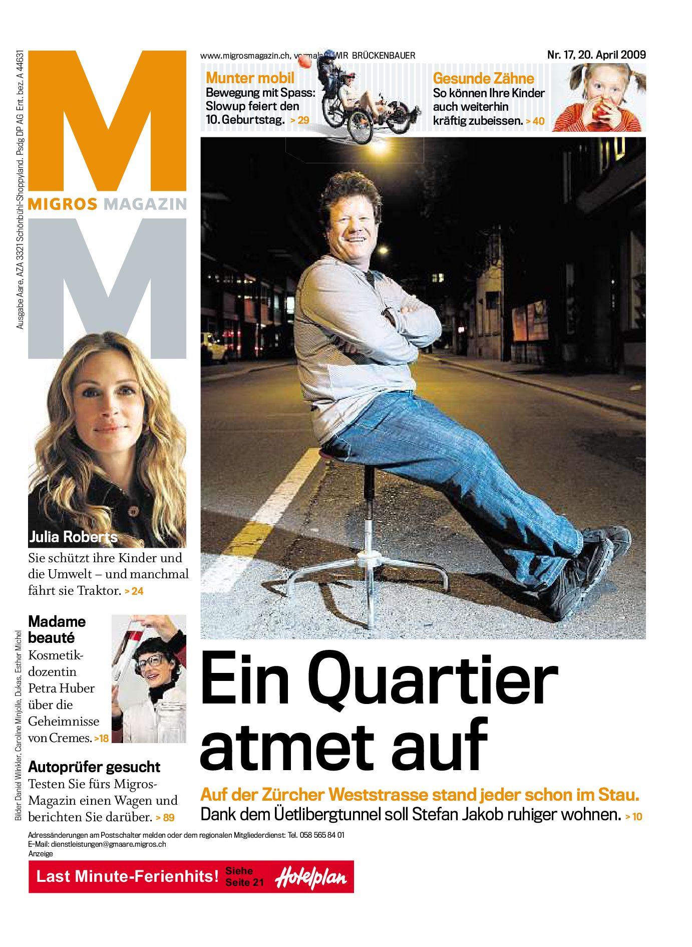 Migros Magazin 17 2009 D AA By Migros Genossenschafts Bund   Issuu