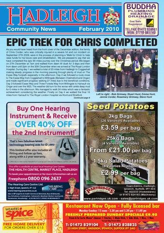 f1f8129c1ec9 Hadleigh Community News, Feb 2010 by Keith Avis Printers - issuu