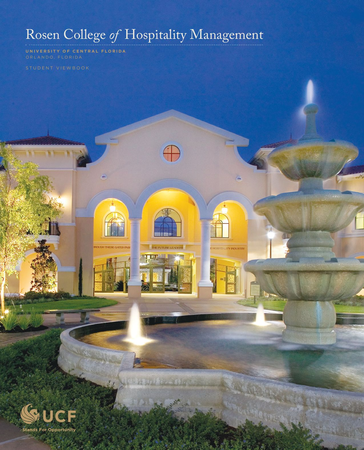 Rosen College Of Hospitality Management Viewbook By University Of Central  Florida  Issuu