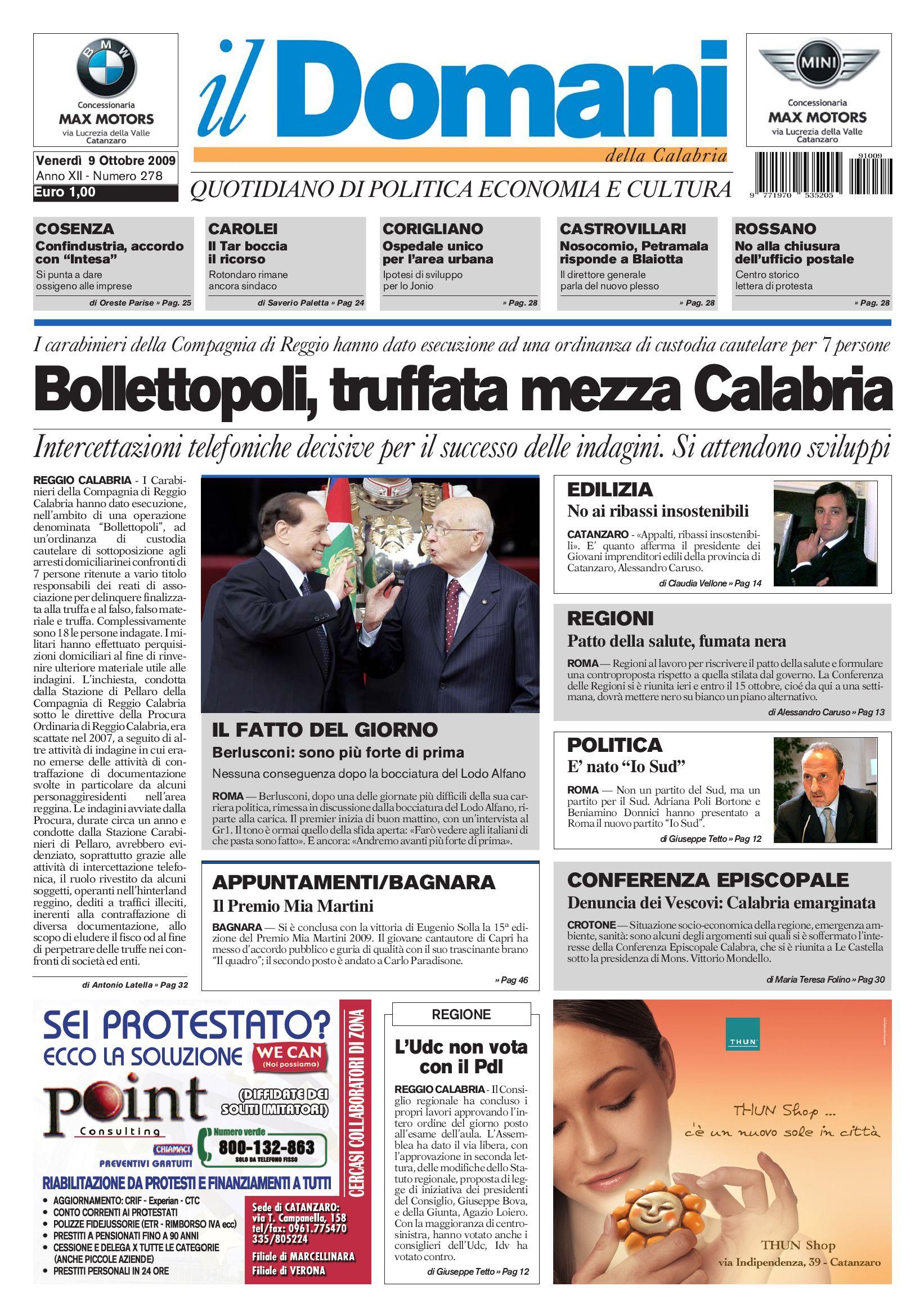 22c9a797f6558 il domani by T P Editori il Domani - issuu