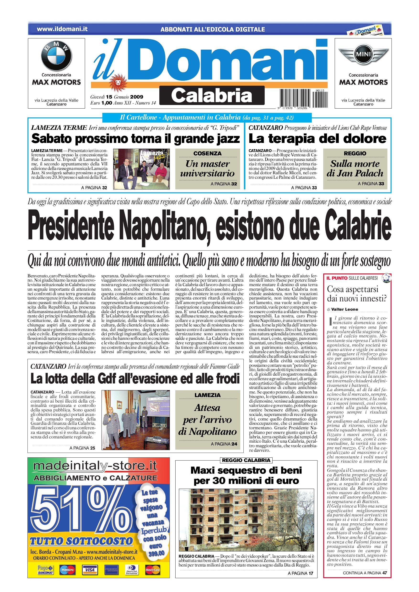 il domani by T P Editori il Domani - issuu a7e1f36460e