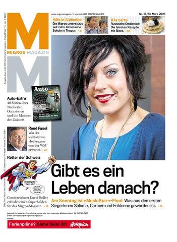 4471065a42d98e Migros Magazin 13 2009 d OS by Migros-Genossenschafts-Bund - issuu