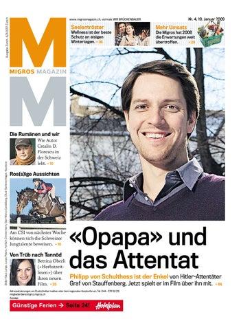 Migros Magazin 4 2009 D Bl By Migros Genossenschafts Bund Issuu