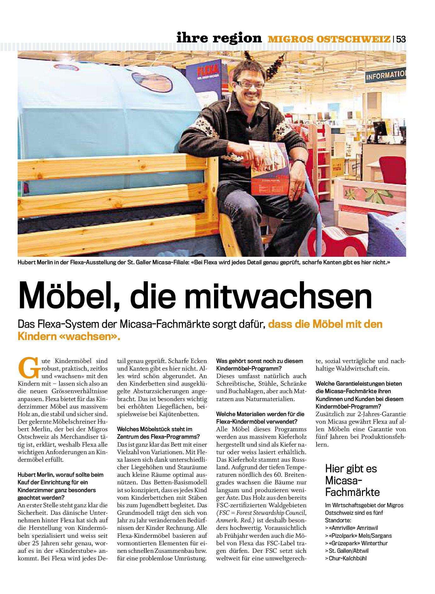 Migros Magazin 3 2009 D Os By Migros Genossenschafts Bund Issuu