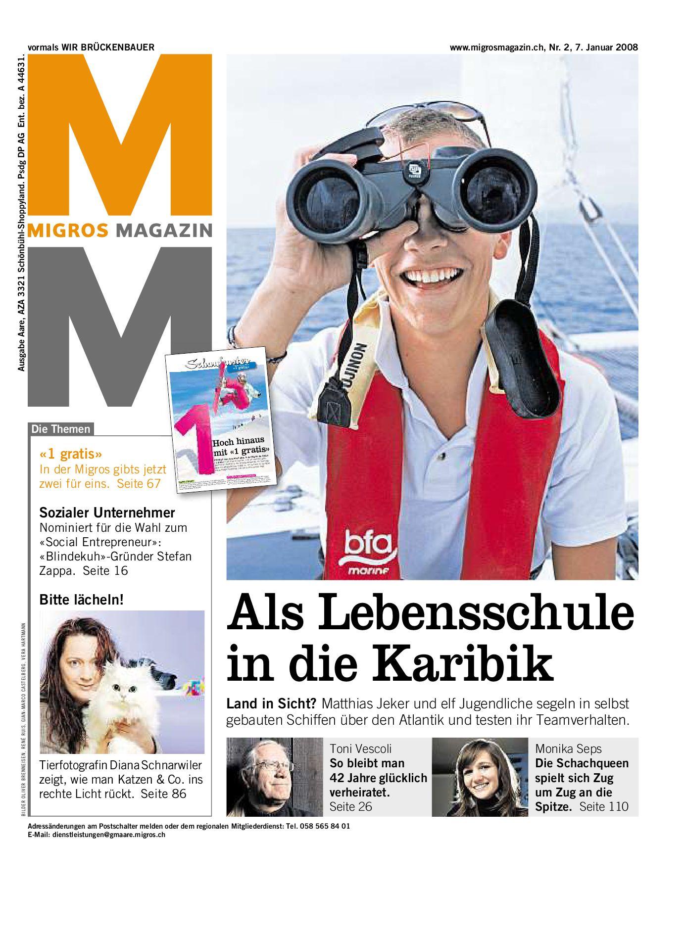 Migros Magazin 2 2008 D Bl By Migros Genossenschafts Bund Issuu